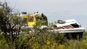 Eight dead, mostly children, in Argentina road crash