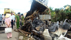Police to take criminal proceedings against truck driver in deadly crash