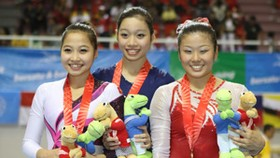Vietnam gymnastic women shine in SEA Games