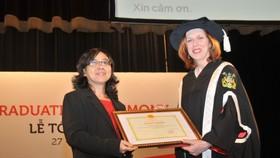 MOET honors RMIT Vietnam