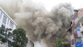 Phuong Dong night club in Da Nang City goes up in flames