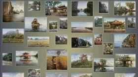 Hanoi exhibits Vietnamese landscapes by Polish artist
