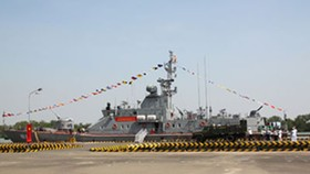 Vietnam Navy receives advanced technology warship