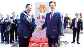 Vietnam, Cambodia inaugurate land border marker