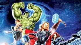 """Biệt đội siêu anh hùng """"lên"""" vũ trụ"""
