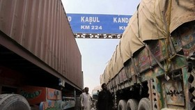 NATO trucks cross border after Pakistan lifts blockade