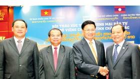 Lao Deputy PM invites investors from HCMC