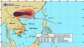 'Typhoon Vicente' to vent fury in Northern Vietnam