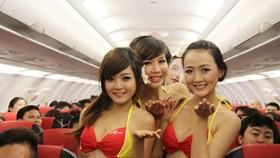 VietJet Air fined for organising bikini show on plane