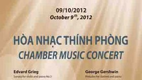 Chamber Music Concert to be held in HCMC