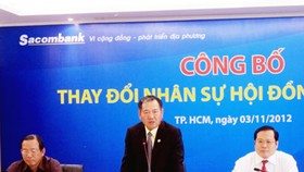 Chairman of Sacombank resigns