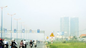 Thick fog covers Ho Chi Minh City