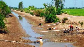 Free freshwater supply for residents in Mekong Delta