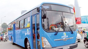 City launches first 'Made-in-Vietnam' CNG bus