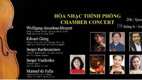 Chamber Music Concert comes to Ho Chi Minh City