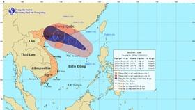 Tropical storm 'Bebinca' intensifies in East Sea