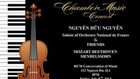 City Conservatory of Music presents Chamber Music Concert