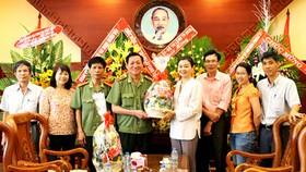 SGGP delegation  visits Ministry of Public Security, City Police