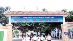 """Trường THCS & THPT Hà Long – Long An: Tương lai mới cho học sinh """"cá biệt"""""""