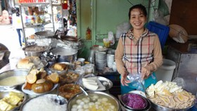 Flourishing Cambodian Market in HCMC