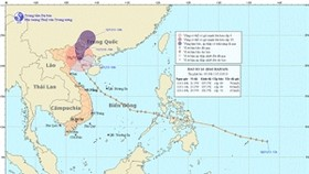 Super typhoon Haiyan lands in northern Vietnam