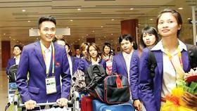 Vietnamese sports delegation arrives in Myanmar