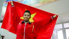 Another female wushu athlete wins gold medal for Vietnam