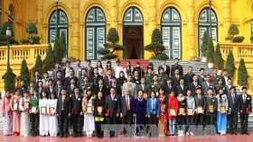 Scientific, Technological Awards granted to young talents