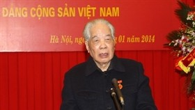 Former leader awarded 75-year party membership insignia