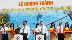 Ha Tien – Phu Quoc Underwater Electricity Cables Completed