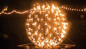 Light show marks 115th anniversary of Hue iconic symbols