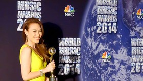 Pop star My Tam wins World Music Award