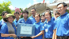 HCMC leader visits Green Summer activists in Quang Ngai Province