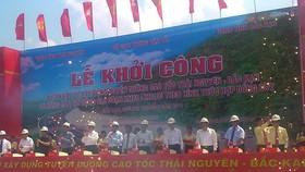VND 2,746 billion invested for Thai Nguyen- Cho Moi National Highway