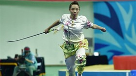 First ASIAD-17 gold won by female Wushu athlete
