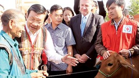 President Sang urges farming industrialisation