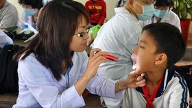 Free health checks offered in Kien Giang