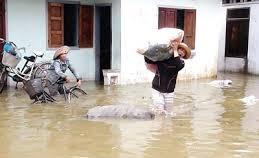 Central provinces suffer damaged flood