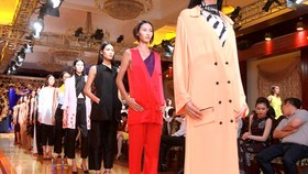 City bustling with year-end fashion shows