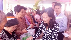 Many charitable activities for disadvantaged people nationwide launched