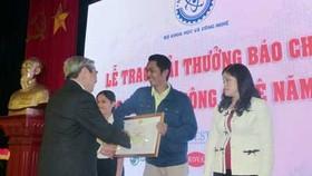 Saigon Giai Phong Newspaper wins first prize at 2014 Science and Technology Press Awards