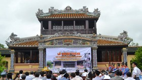 Hue reopens ancient imperial relic