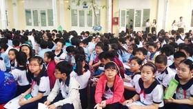 TPHCM công bố kế hoạch tuyển sinh đầu cấp năm học 2015-2016
