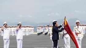 President Sang congratulates Vietnamese Navy on 60th anniversary