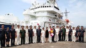 Japan Coast Guard patrol vessel Yashima arrives in Da Nang