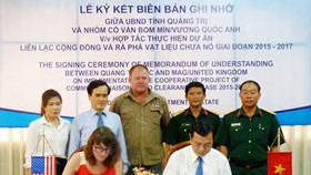 U.S. finances US$10 million to remove bombs in Quang Tri