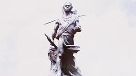 Monument of national hero N'Trang Long built in Dak Nong