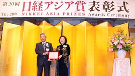 First Vietnamese businesswoman receives Nikkei Asia Prize