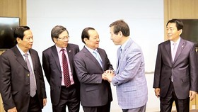 Ho Chi Minh City high ranking officials visit South Korea