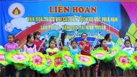 Cultural festival brings joy to ethnic children